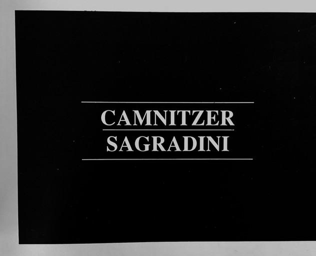 Camnitzer- Sagradini
