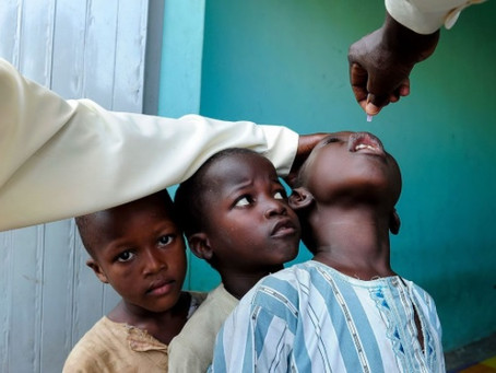 Polio has been eradicated from Africa