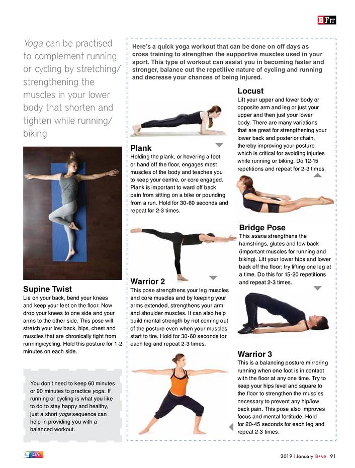 Effective Ways to Combine Yoga and Exerc