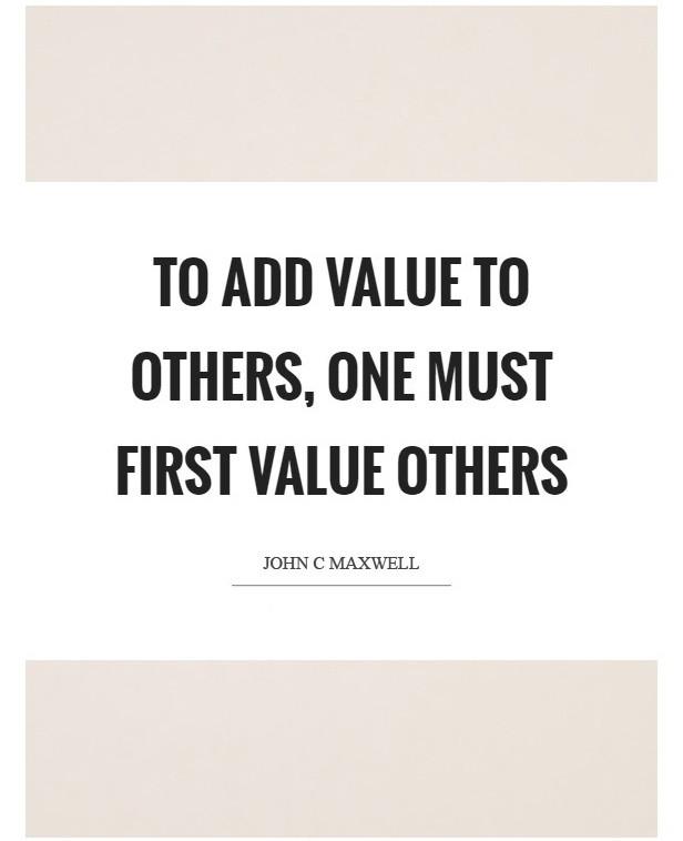 value customers