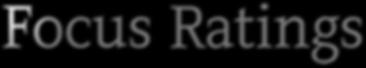 focus ratings