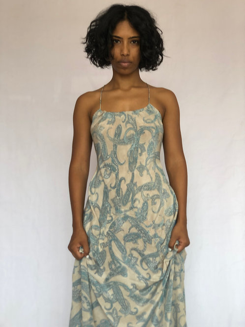 Silk Saint Dress