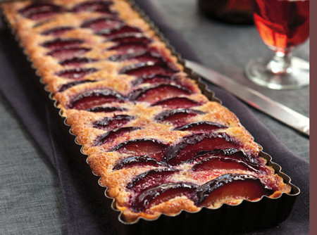 Black Plum Tart