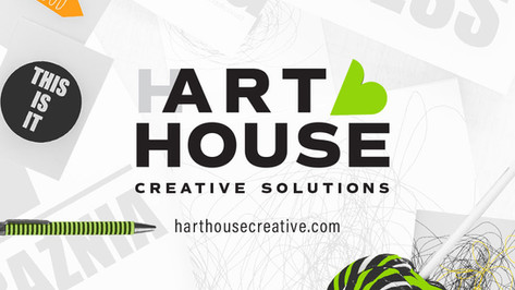 Hart House Creative Solutions provides brand development and concept-driven design solutions.