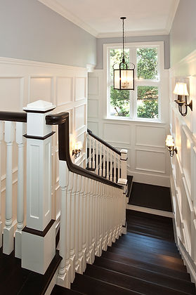 wood stairs, wood railings, miami stairs, miami railings, florida stairs, miami stairs