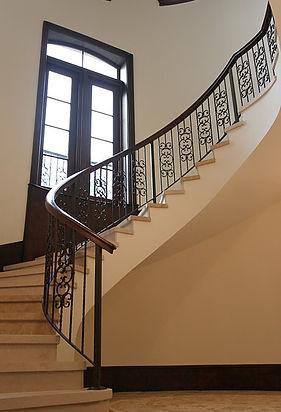 steel railings, miami stairs, miami glass railings, florida stairs, florida railings