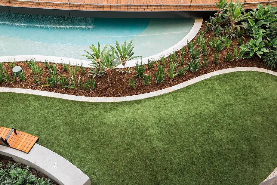 Kunstrasen-Garten-Balkon