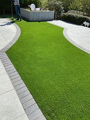 Kunstrasen-Garten
