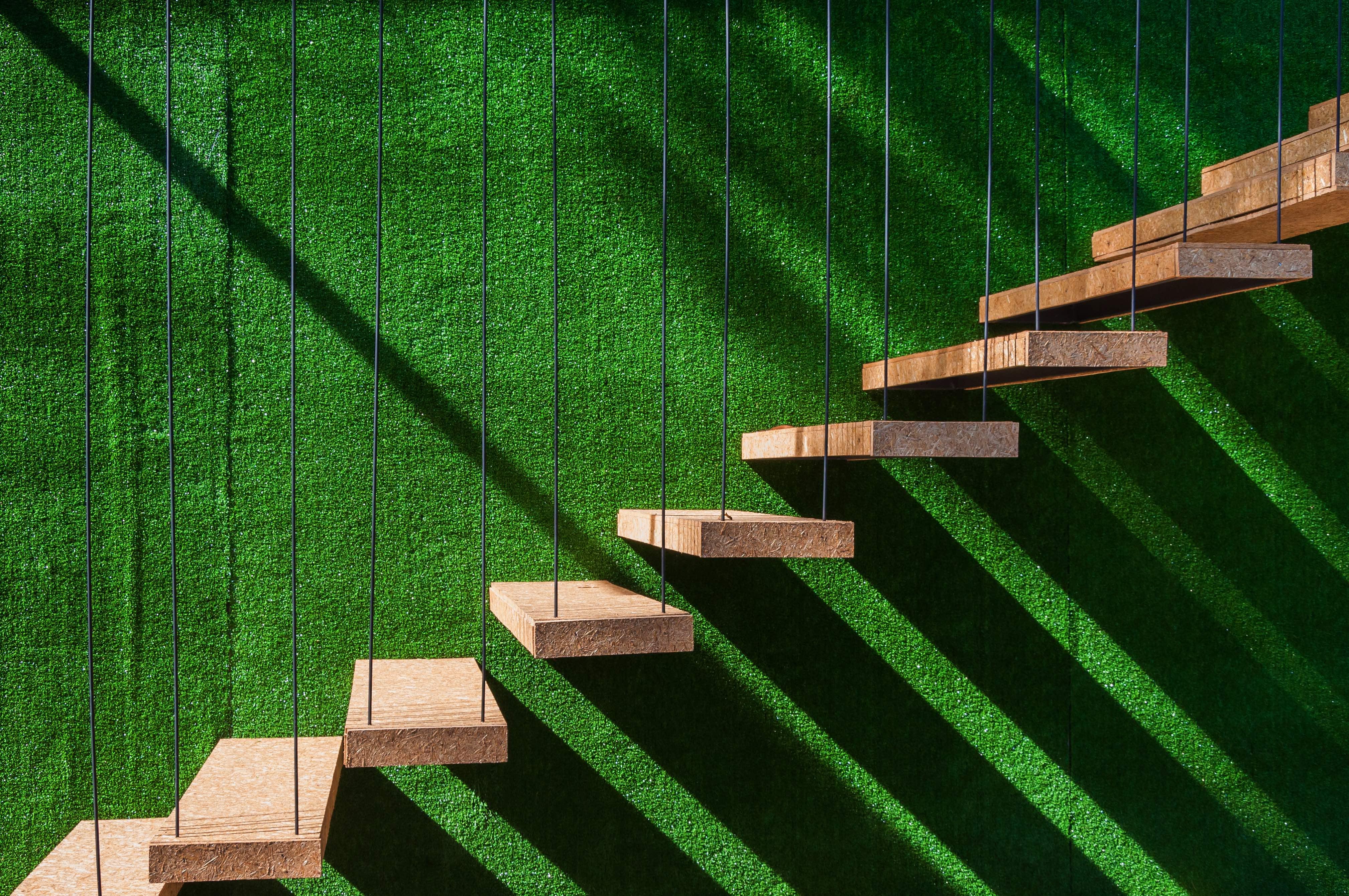 Kunstrasen-Wand