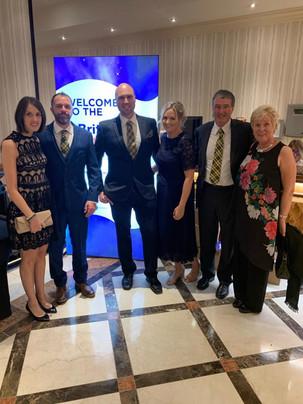 Family at the British Farming Awards