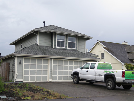 GAF Timberline HD Asphalt Shingle Roof & Two New Skylights in Orting