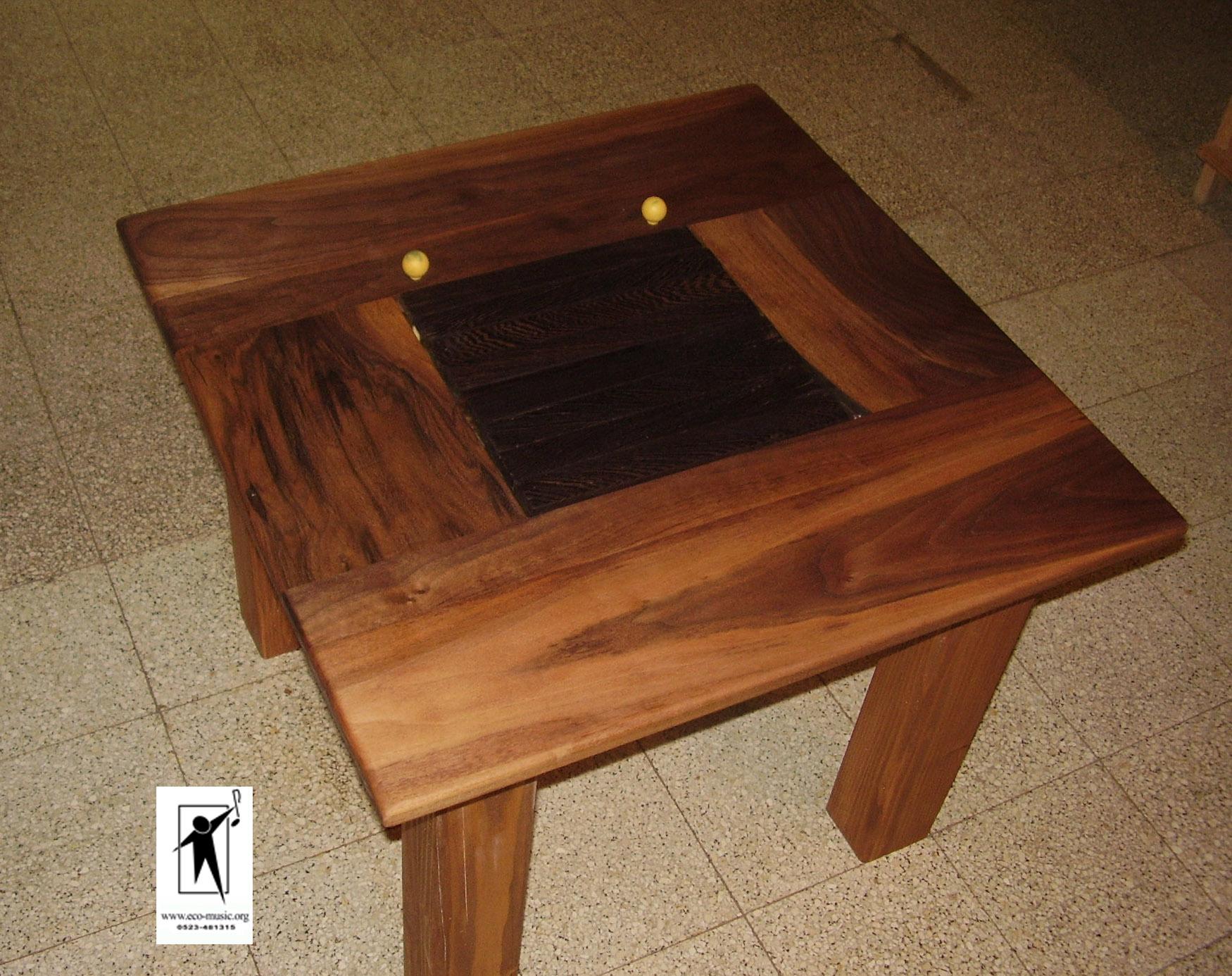 שולחן קפה מנגן