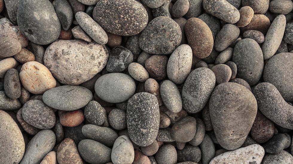 """2-6"""" Dia. River Rock"""
