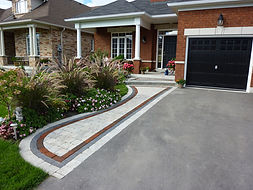 Front Walkway and Driveway