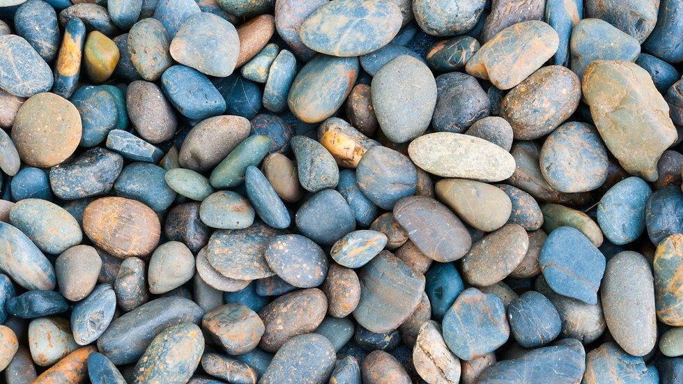 """1-3"""" Dia. River Rock"""