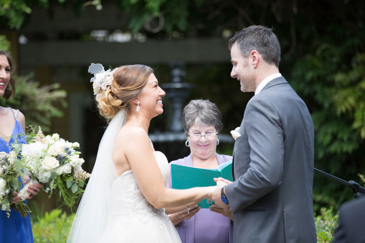 wedding close up