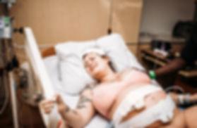 mom in labor Boston MA hospital