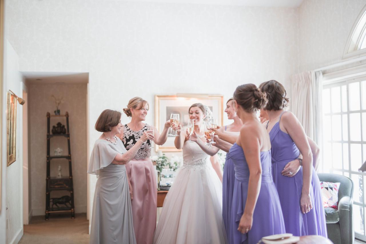 wedding toasting