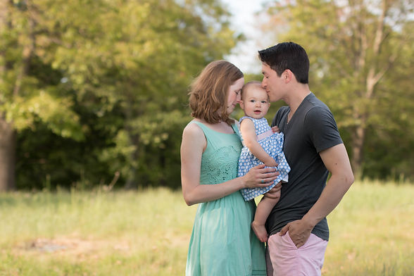 outdoor family session in Minuteman Park concord ma