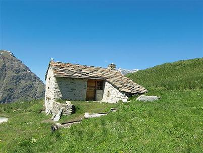 Chalet d'alpage niché à 2400 m d'altitude dans les alpages de la Mottuaz à Bessans