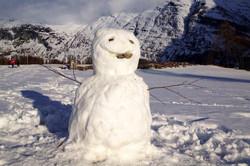 Joli bonhomme de neige!