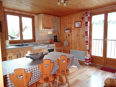 Appartement Les Villasl pour 6 personnes à Bessans en Haute-Maurienne Vanoise