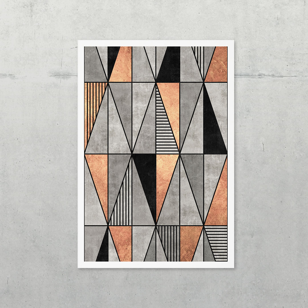Concrete and Copper Triangles