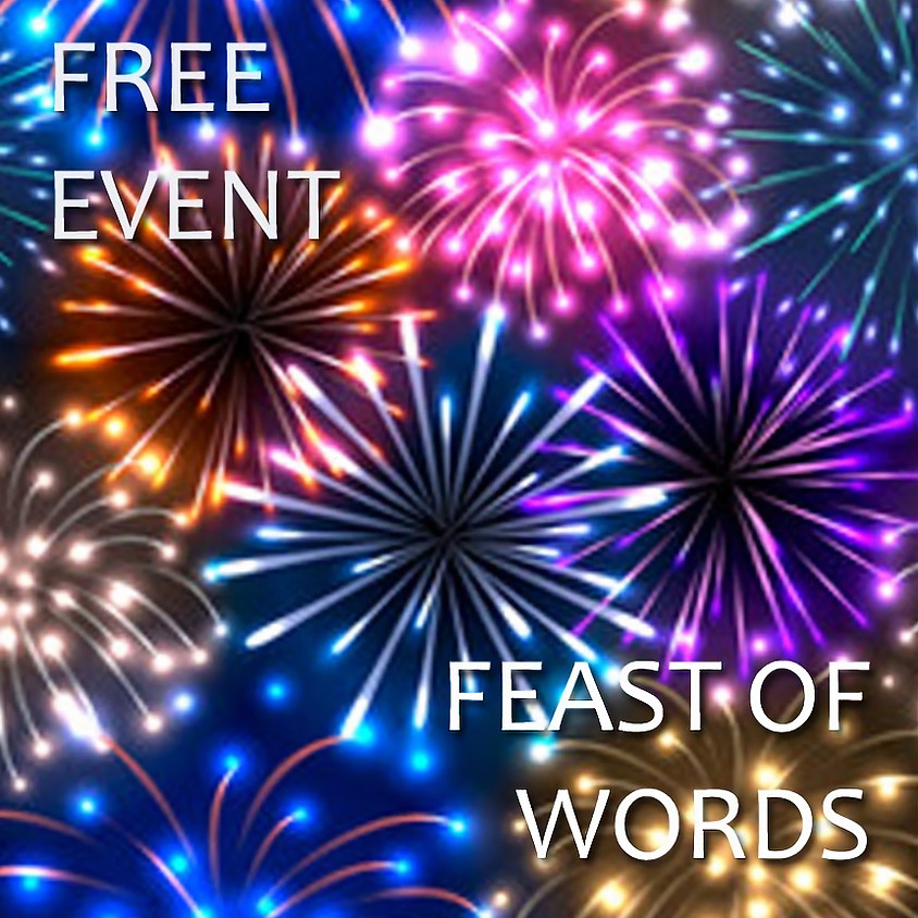 July Feast of Words, Fireworks & Potluck