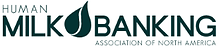 image of human milk banking association of northa america's logo