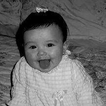 baby portrait of Brynn