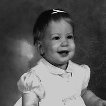 baby portrait of Karen