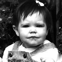 baby portrait of Nicole