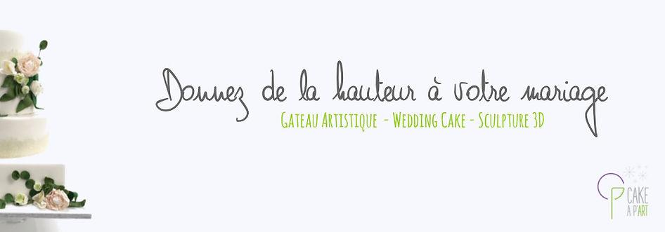 Gateau mariage cakeapart