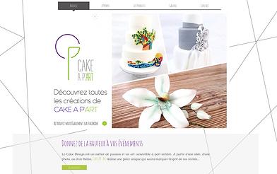 Le site internet de Cake A P'Art