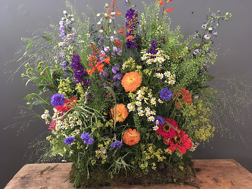 Fresh Seasonal Meadow box arrangement