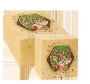 Сыр Трюфель с паприкой и чесноком (Беловежские сыры) ~2кг