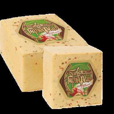 Сыр Трюфель с паприкой и чесноком Беловежские сыры 2кг