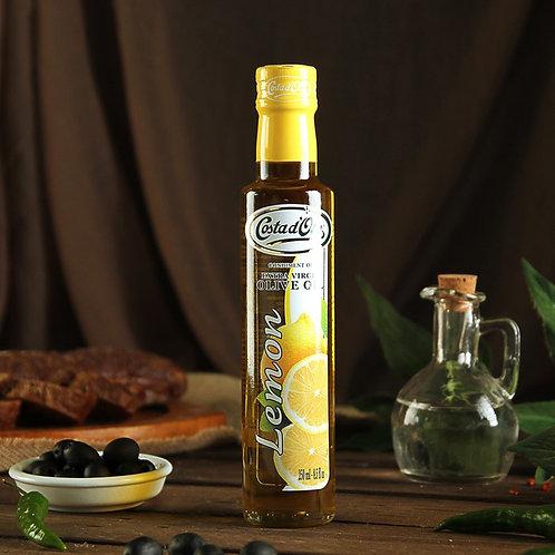 Масло оливковое cо вкусом и ароматом Лимона Costa d'Oro, 250мл