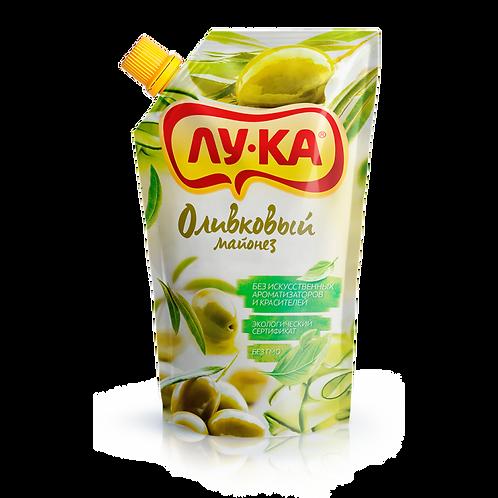 майонез ЛУКА Оливковый 0,2 кг  дой-пак  60%