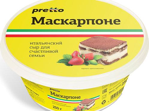 Маскарпоне Pretto 250 грамм