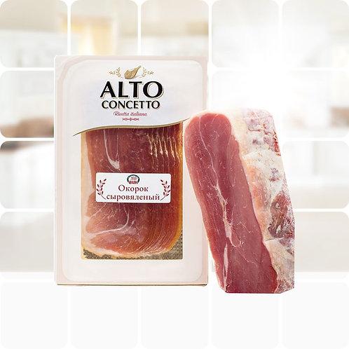 """Окорок сыровяленый нарезка""""Прошуто"""" ТМ""""ALTO CONCETTO, 0,1 кг"""