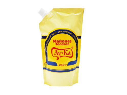 майонез ЛУКА Золотой 0,4 кг дой-пак 60%