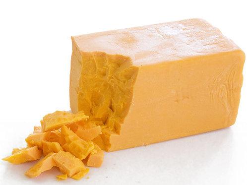 """сыр Чеддер тм """"Сырная река"""" голова 3,7 кг"""