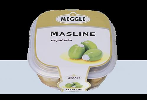 Оливки со сливочным сыром  ТМ Meggle, 230гр