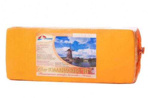 сыр Голландский 45%  Брюкке МСЗ 5 кг