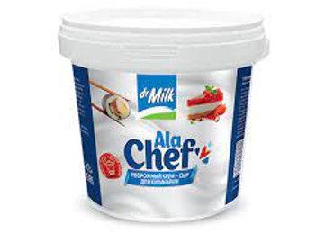 Крем-сыр творожный Dr.Milk для кулинарии 65% 2 кг