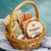 Сырные корзины и сырные тарлки с доставкой в Томске