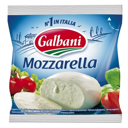 Сыр Galbani Mozzarella 45%, 125г