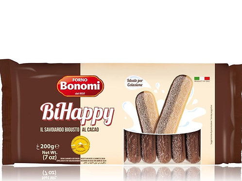 Печенье Савоярди сахарное двухцветное Forno Bonomi 200гр