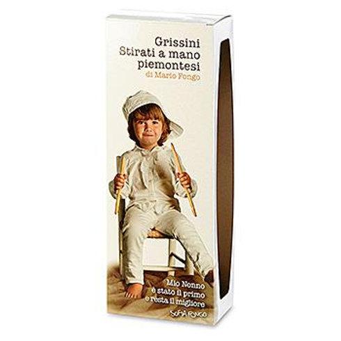 Хлебные палочки «Grissini Пьемонтские», Mario Fongo, 200 г, Италия